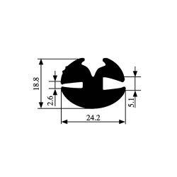 191-elastika-profil-filistrinion
